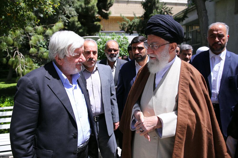تقرير مصور عن الفقيد السيد محمد ميرمحمدي عضو  مجمع تشيخص مصلحة النظام في إيران