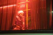 تصاویر/ ضدعفونی ناوگان اتوبوسرانی اهواز توسط روحانیون جهادی