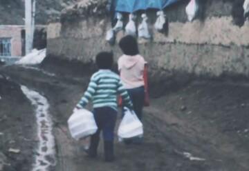 فیلم   شرایط سخت مردم زلزله زده قطور خوی