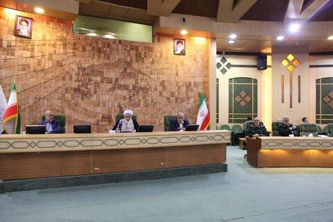 نشست ستاد مدیریت «بیماری کرونا» که در محل استانداری کرمانشاه
