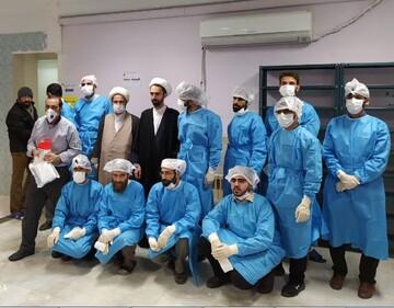گزارشی از فعالیت طلاب قرارگاه جهادگران سلامت در مبارزه با بیماری کرونا + PDF