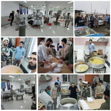حضور طلاب حوزه علمیه امام خامنهای ارومیه در مناطق زلزلهزده خوی