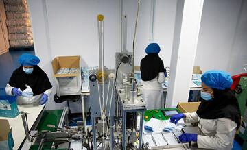 راهاندازی کارگاه تولید ماسک طبی در حوزه علمیه بهبهان