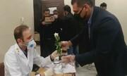 قدردانی اهالی پردیسان قم از پرسنل بیمارستان سیار شهید هجرتی ارتش