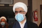 خداقوت مدیر حوزه قزوین به کادر درمانی یک مرکز بهداشتی