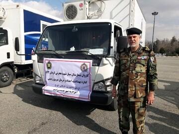 روزانه قریب به ۷۰ نفر به بیمارستان سیار نیروی زمینی ارتش در پردیسان مراجعه میکنند