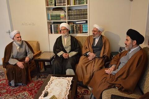 تصاویر دیدار نماینده ولی فقیه در آذربایجان غربی با علمای پیشکسوت ارومیه