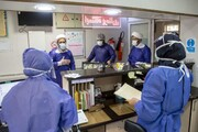 فیلم   تعامل کادر پزشکی بیمارستان فرقانی و نیروهای جهادی در مبارزه با ویروس کرونا