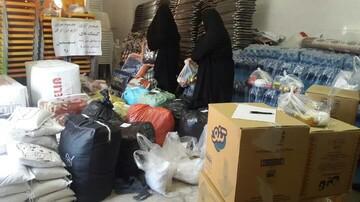 کمک ۵۰ میلیونی الزهرا(س) گرگان به مناطق سیل زده سیستان و بلوچستان
