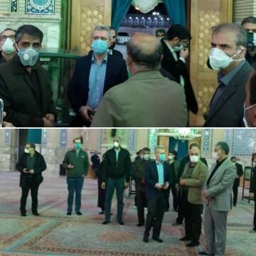 بازدید کارشناسان سازمان بهداشت جهانی از فعالیت های مسجد جمکران