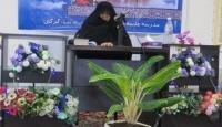 خانم سیده طاهره موسوی مسئول پاسخگویی به سوالات شرعی دفتر مقام معظم رهبری