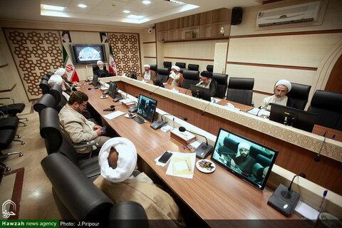 بالصور/ اجتماع مديري مركز إدارة الحوزات العلمية في إيران بقم المقدسة