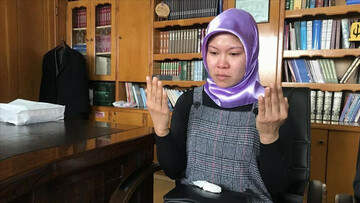 Filipino woman can't hold back tears as she embraces Islam in Turkey