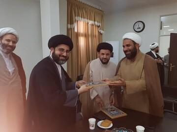 تقدیر تبلیغات اسلامی خوزستان از مدیران جهادی مدارس علمیه اهواز