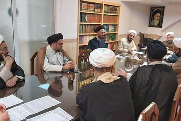 بررسی مسائل آموزشی طلاب در جلسه شورای آموزش حوزه علمیه استان یزد