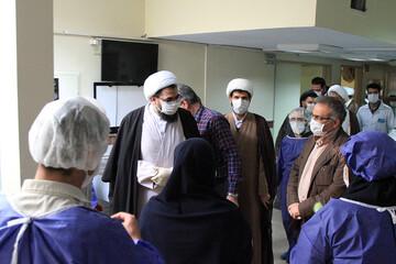 تصاویر/ تقدیر نماینده ولی فقیه در استان همدان از کادر پزشکی و درمانی بیمارستان سینا