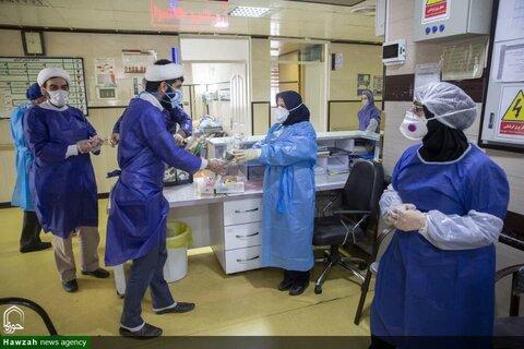 حضور طلاب در بیمارستان