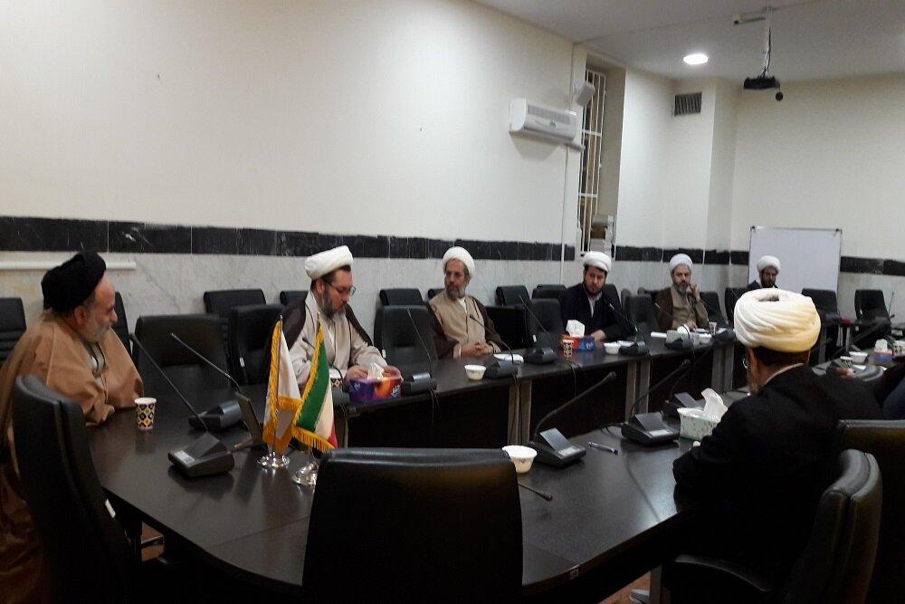 تصاویر/ جلسه هماهنگی نهادهای حوزوی کرمانشاه جهت مقابله با ویروس کرونا