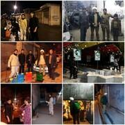 تقرير مصور عن نشاطات طلاب العلوم الدينية ونضالهم في مكافحة كورونا في مختلف أرجاء إيران