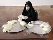 بالصور/ نشاطات الطالبات المتبرعات للحوزة الزينبية العلمية في مكافحة فايروس كورونا بمدينة قزوين الإيرانية