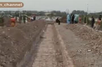 فیلم | تکذیب ادعای حفر خندق ۹۲ متری در بهشت معصومه قم