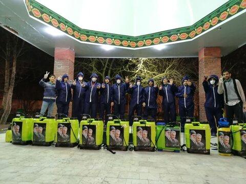 نشاطات طلاب العلوم الدينية ونضالهم في مكافحة كورونا