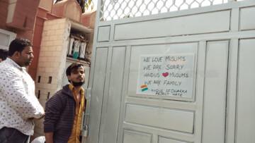 هندوها با نصب پوسترهایی از حمله به مسجد در گجرات عذرخواهی کردند