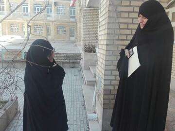 بازدید سرزده مدیر حوزه علمیه خواهران همدان از مدرسه معصومیه نهاوند