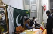 فیلم  توزیع اقلام بهداشتی توسط طلاب پاکستان مقیم قم