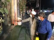 جهاد «به وقت کرونا» ۲۰ گروه طلبگی در دیار رئیسعلی دلواری