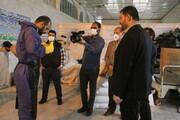 تصاویر/ مستندسازی خبرگزاری حوزه از خدمات جهادی طلاب در بهشت معصومه(س)