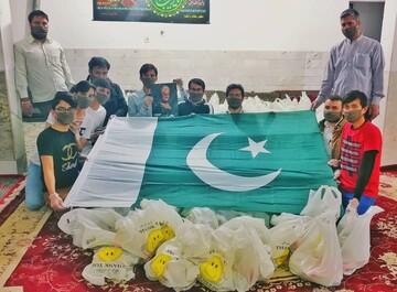 توزیع اقلام بهداشتی رایگان به همت طلاب پاکستانی مقیم قم + تصاویر