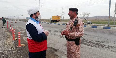 فعالیت های جهادی روحانیان خراسان شمالی برای مقابله با کرونا