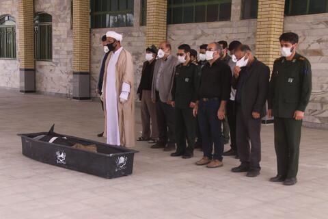 """وثائقي لوكالة أنباء الحوزة عن خدمات طلاب العلوم الدينية في مقبرة """"جنة السيدة المعصومة عليها السلام"""" [(بهشت معصومة(ع)] بقم المقدسة"""