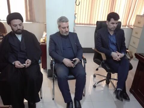 تقدیر مدیر حوزههای علمیه خواهران همدان از نیکوکاران بازار همدان