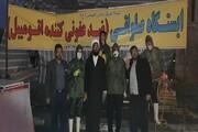 طلاب جهادی اسلامآباد غرب در خط مقدم ضدعفونی وسایل حمل و نقل عمومی