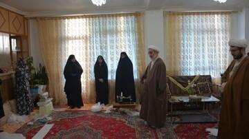 بازدید امام جمعه مرند از کارگاه تولید ماسک+ عکس