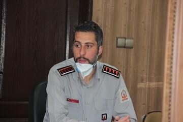 تقدیر مسئولان آتش نشانی از قرارگاه جهادی حوزه علمیه قزوین