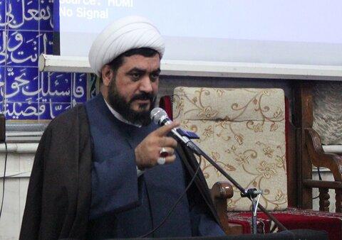 حجت الاسلام یوسف احمدی مدیرکل تبلیغات اسلامی استان کرمانشاه