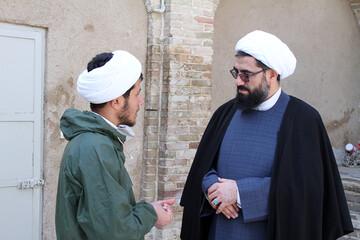 تصاویر/ حضور امام جمعه همدان در جمع طلاب قرارگاه جهادی تبلیغی