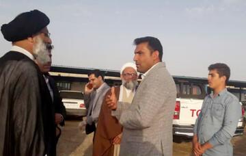 بازدید نماینده ولی فقیه در خوزستان از کارگاه احداث جاده کمربندی بندر امام(ره) به آبادان