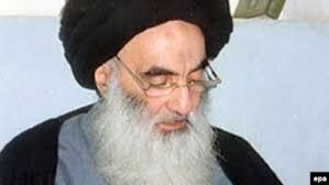 Iraq's top Shia cleric Ayatollah Ali al-Sistani