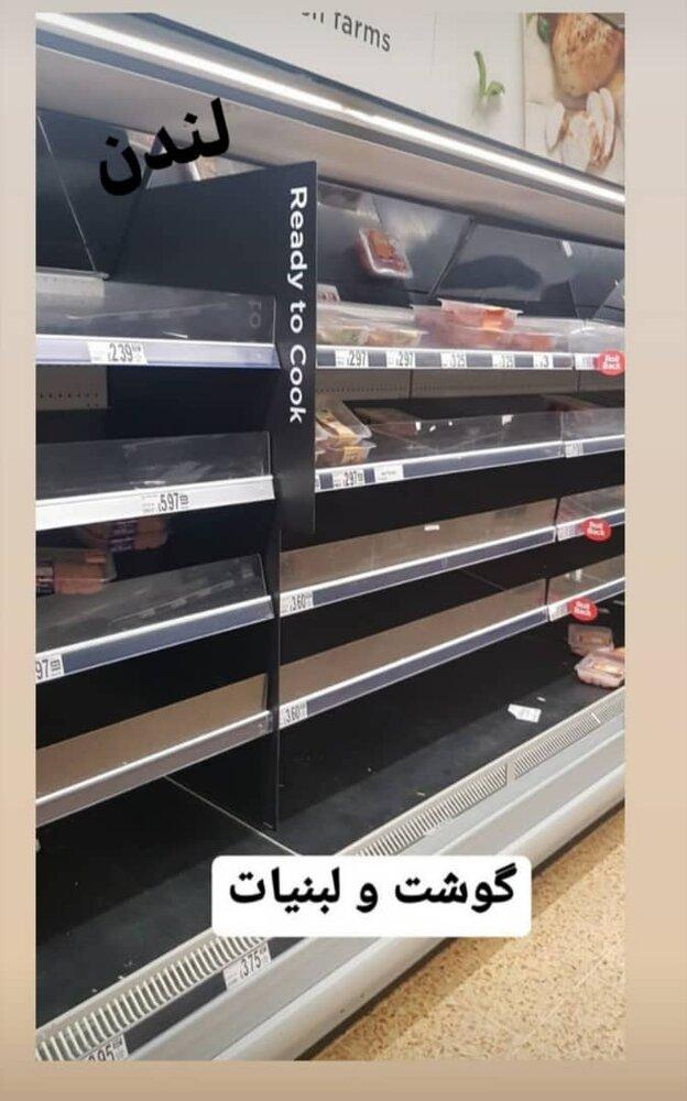 بالصور/ رفوف فارغة في متاجر دول تدعي الحضارة والثقافة