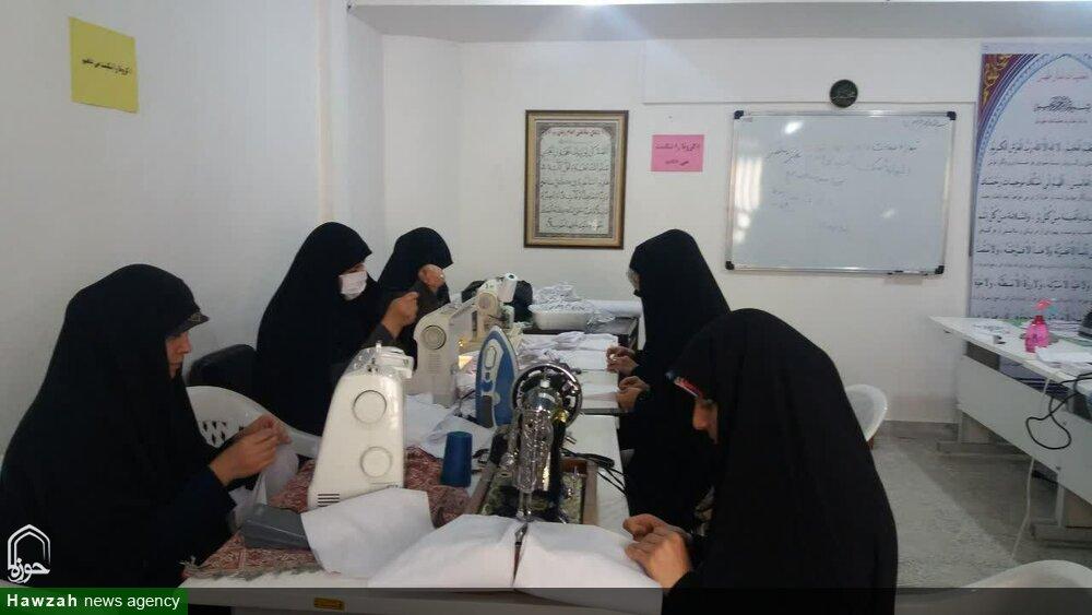 تصاویر شما/ فعالیت های جهادی طلاب مدارس علمیه استان مرکزی در مبارزه با کرونا