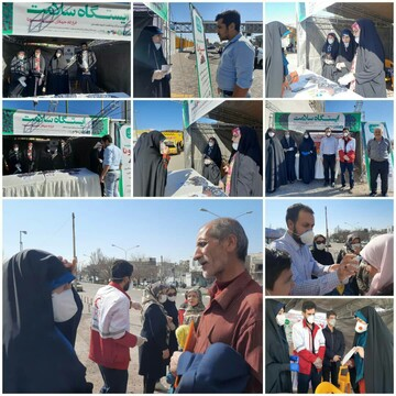 توزیع ۱۲ هزار ماسک و مواد ضدعفونی در روستاهای محروم قزوین