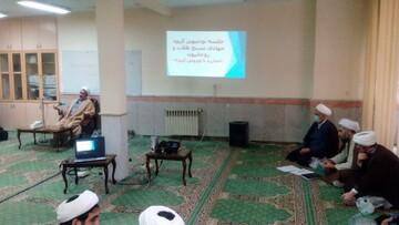 جلسه توجیهی طلاب جهادی مبارزه با کرونا در تبریز تشکیل شد