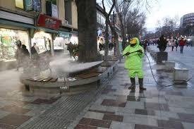 برگزاری مانور ایدههای نو در تسریع در فرآیند ضدعفونی محیط شهری