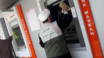 تصاویر/ فعالیتهای جهادی طلاب خراسان شمالی در مقابله با کرونا