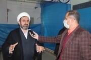 تولید روزانه ۱۰۰۰ ماسک در قرارگاه جهادی حضرت خدیجه(س) قزوین