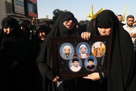 مادر شهید مدافع حرم مومنی